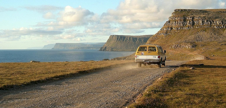 Met je eigen auto naar IJsland
