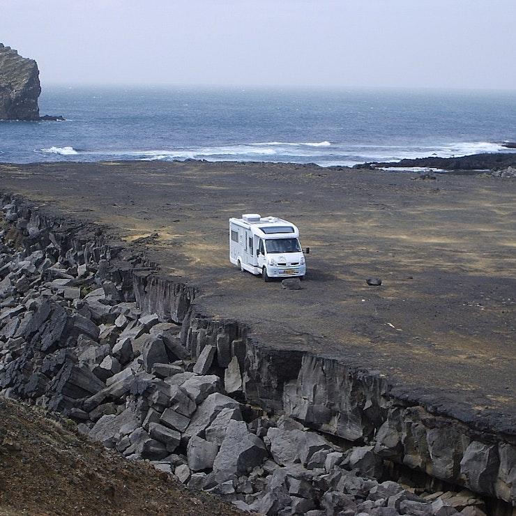 Met eigen camper naar IJsland