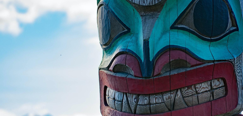 Totem, Haines Rondreis in Yukon
