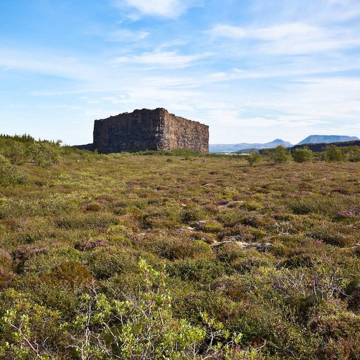 Asbyrgi, Paardrijden Northern exposure, IJsland