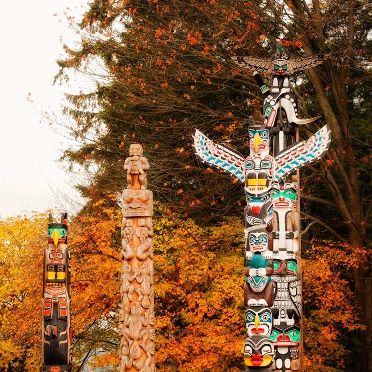 Totempalen, Stanley Park Vancouver