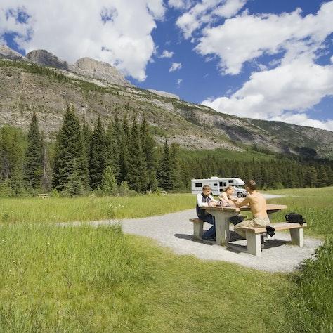 Kamperen Canadese Rockies
