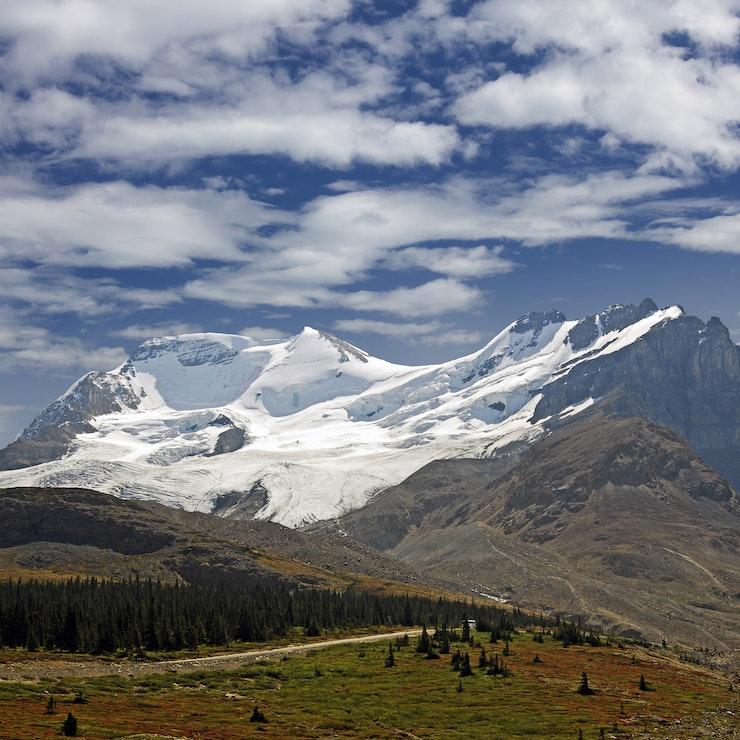 Mt. Athabasca, Sunwapta Pass, Alberta