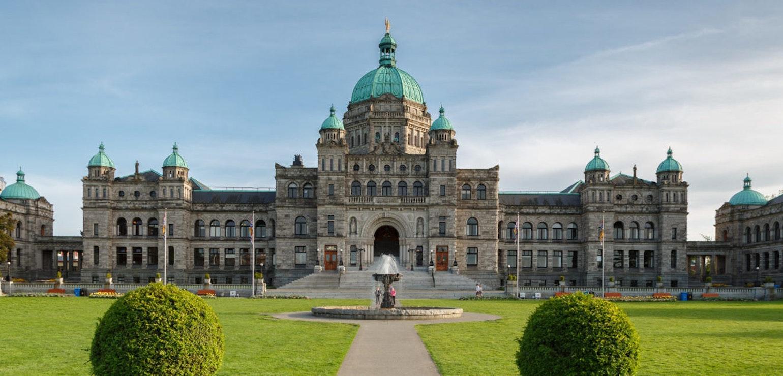Parlementsgebouw Victoria, foto: Menno Schaefer