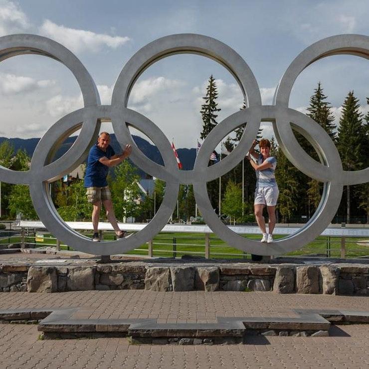 Whistler olympische ringen, foto: Menno Schaefer