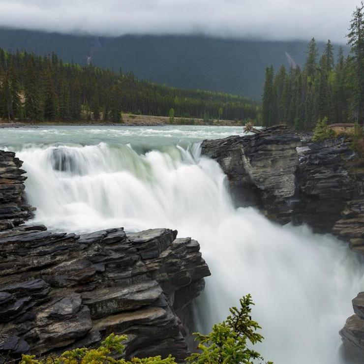 Athabasca Falls, Jasper Nationaal Park
