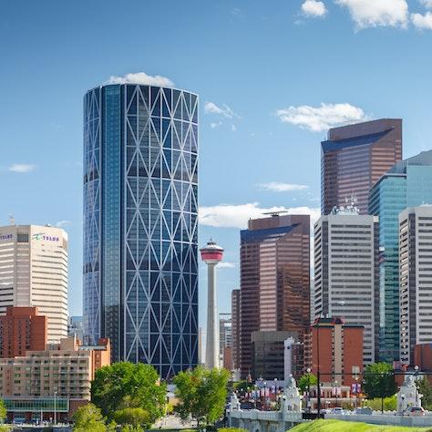 Calgary, Alberta autoreis in Canada
