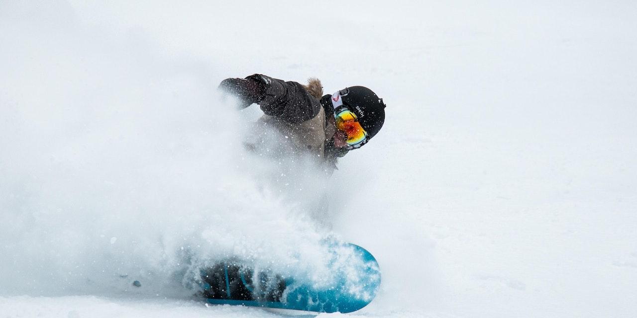 Snowboarden Revelstoke