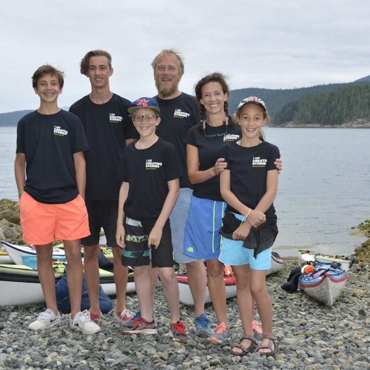Vakantie naar West-Canada familie Kloosterman