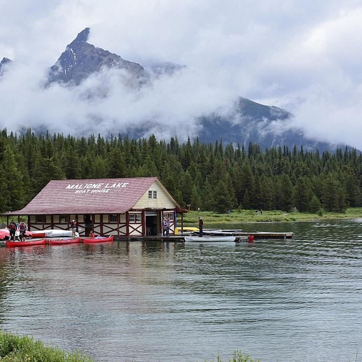 autorondreis West Canada Maligne Lake