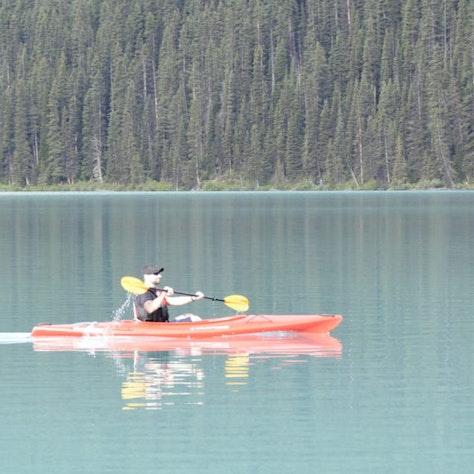 Kanoën Lake Louise, Banff