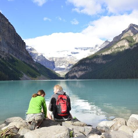 gezinsvakantie Canada Lake Louise, Banff Nationaal Park