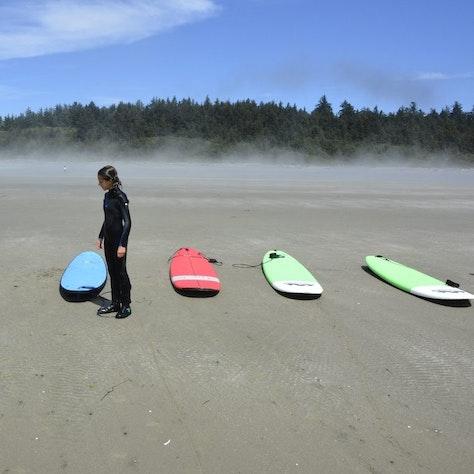 Surfen Campbell River rondreis West-Canada