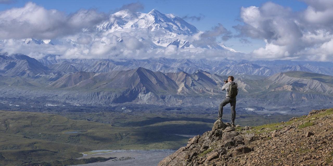 Mt. McKinley, Denali Nationaal Park Alaska