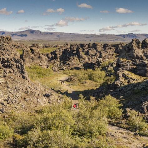 Dimmuborgir, IJsland
