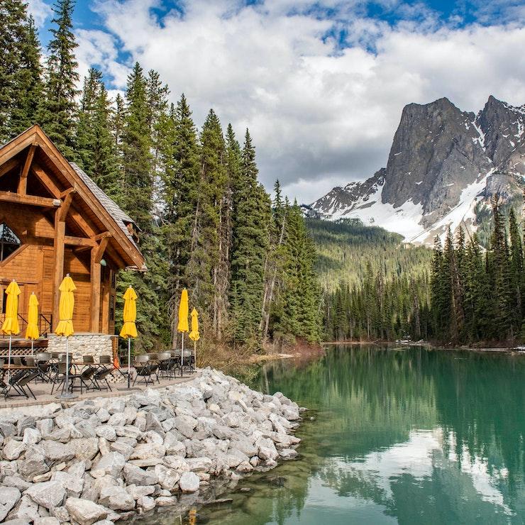 Emerald Lake, Yoho Nationaal Park, BC