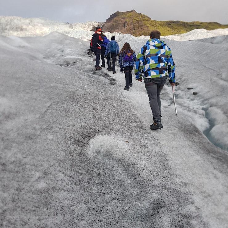 Gletsjerwandeling Falljökull gletsjer