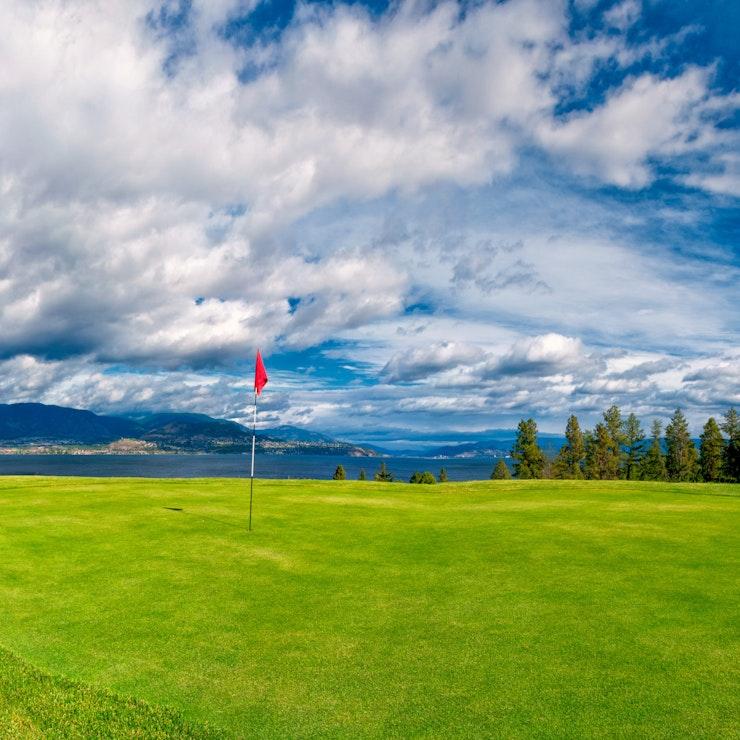 Golf Course, Kelowna Okanagan Valley
