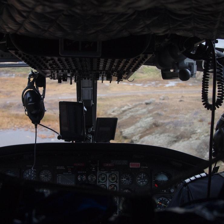 Helicoper van Tasiilaq naar Kulusuk