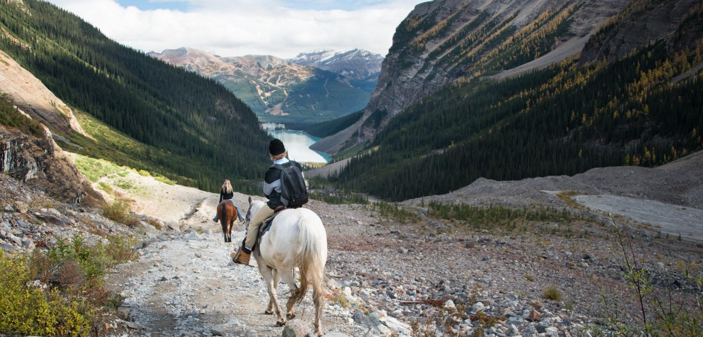 Paardrijden gezinsvakantie in West-Canada