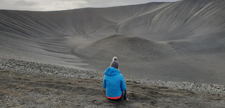 Hverfjall vulkaan