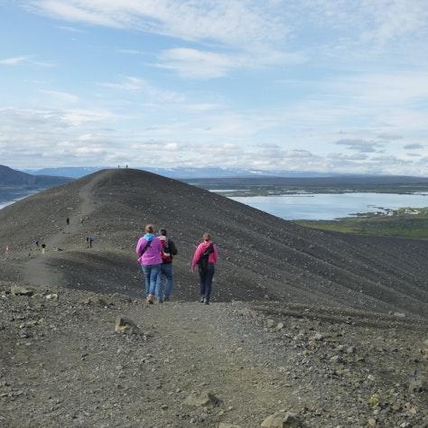 Hverfjall Rondreis vakantiehuisjes op IJsland