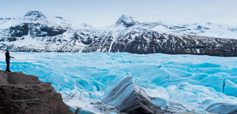 Gletsjer Svínafellsjökull