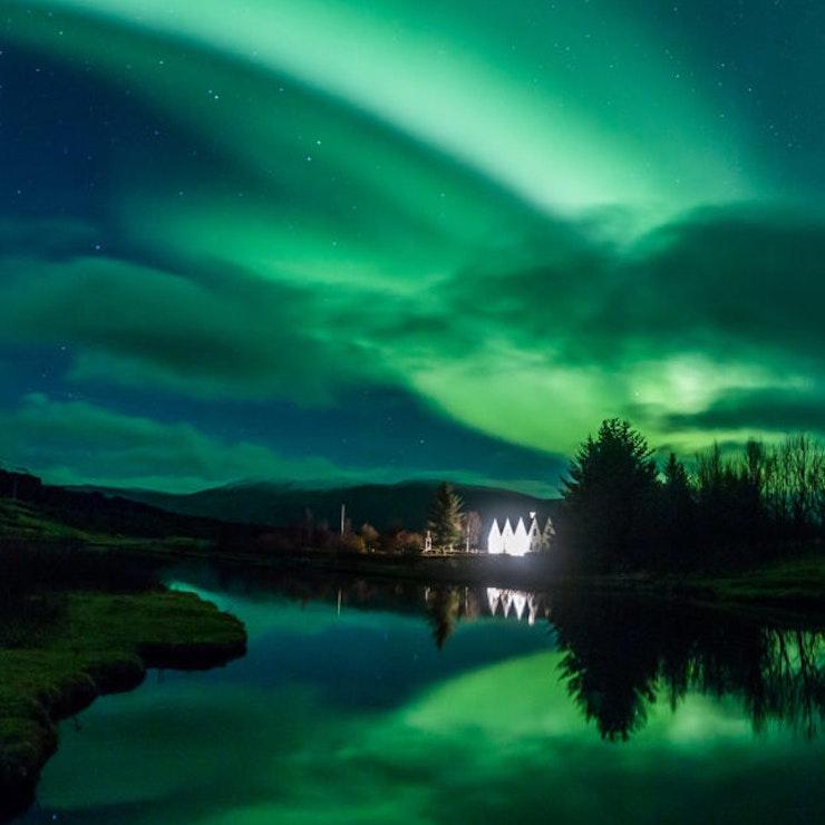 Þingvellir noorderlicht