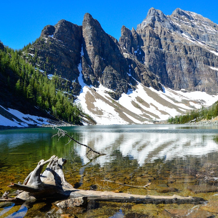 Lake Agnes, Banff Nationaal Park, Alberta