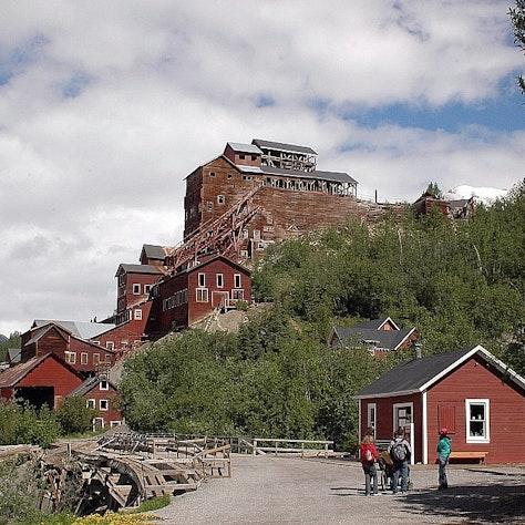 Kennicott Mijnen alaska reizen