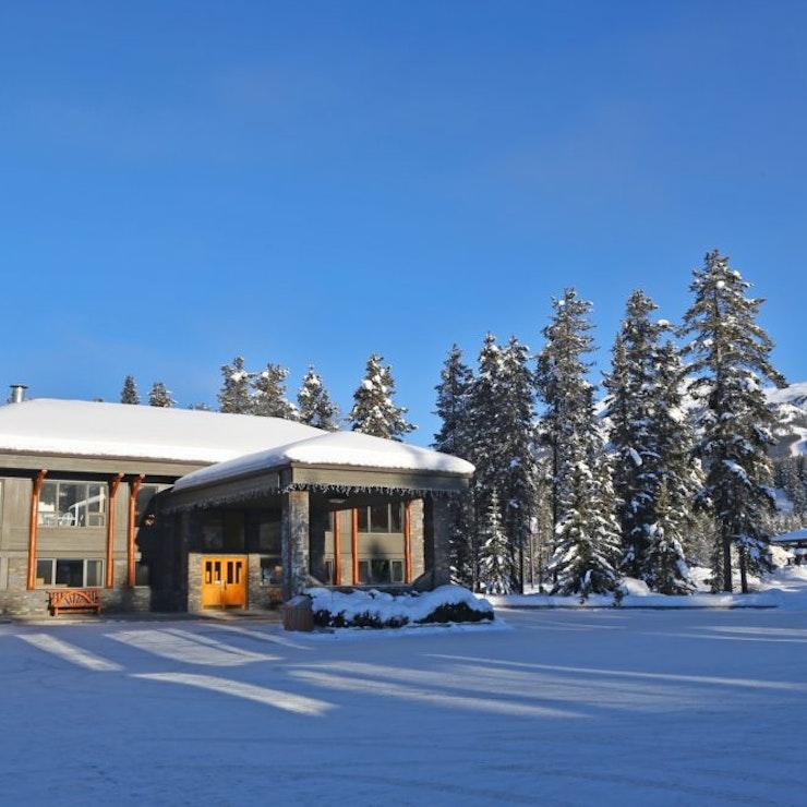 Mountaineer lodge wintersport in Lake Louise