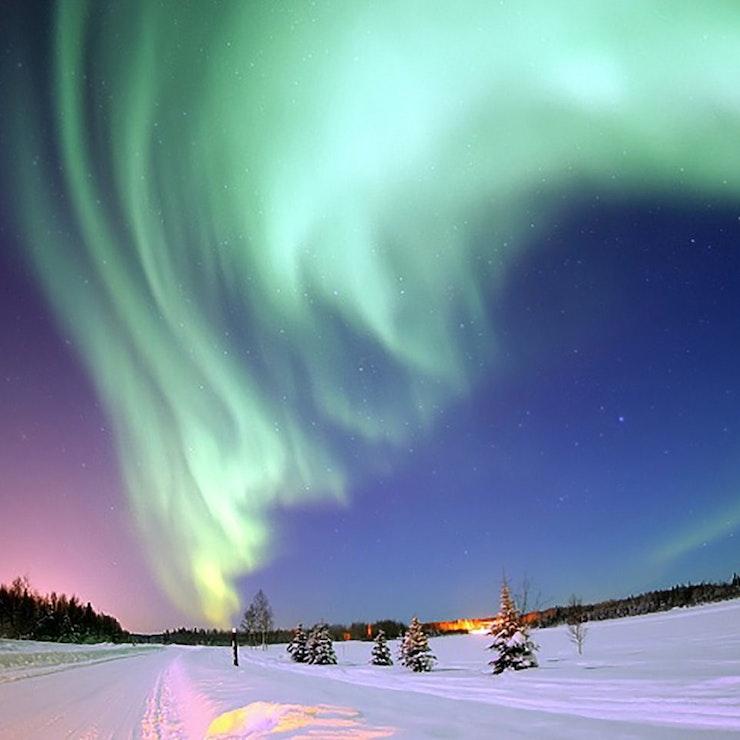 Noorderlicht Yukon Canada