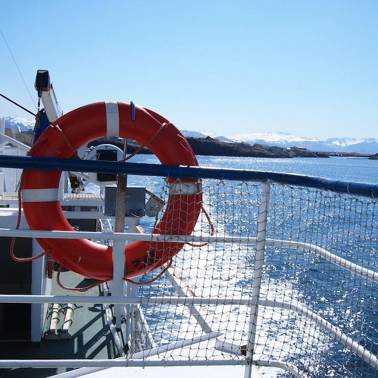 Op de boot naar de Westfjorden