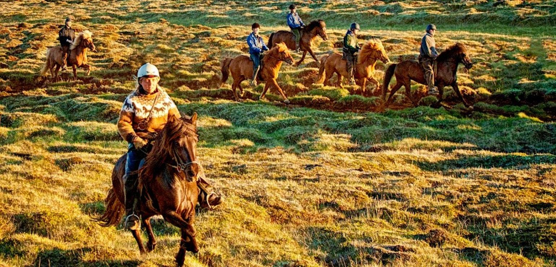 Paardrijden Northern exposure, paardrijtocht op IJsland