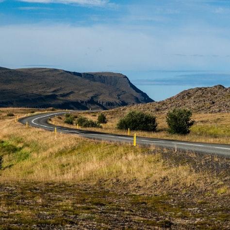 Ringweg in het noorden van IJsland