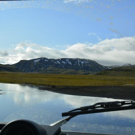 Rivierdoorsteek IJsland