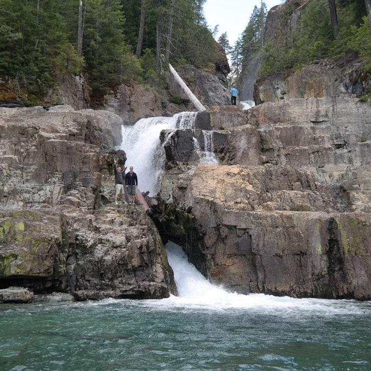 groepsreis in West-Canada