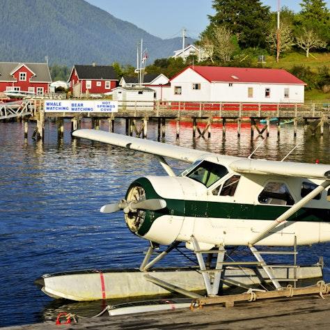 Watervliegtuig Pacifische Kust, Tofino British Columbia