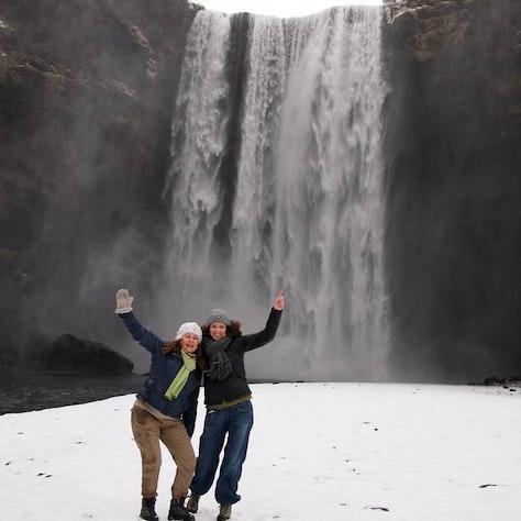 Skógafoss winterreis naar Zuid-IJsland