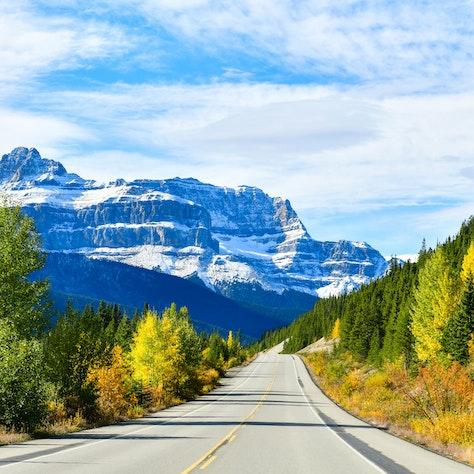 Icefield Parkway, Jasper Nationaal Park