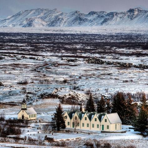 Þingvellir nationaal park winterreis naar Zuid-IJsland