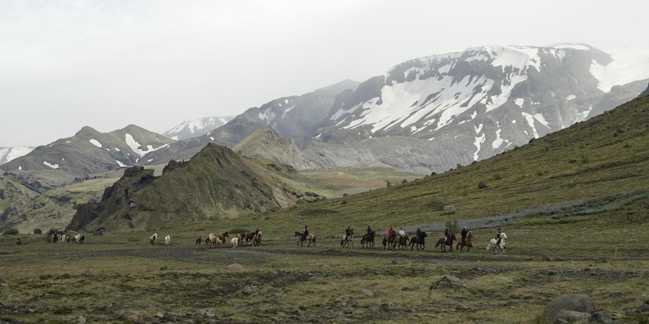 Paardrijdtocht þórsmörk