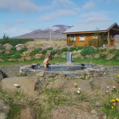 Vakantiehuis in Skagafjörður met gezamenlijke hotpot
