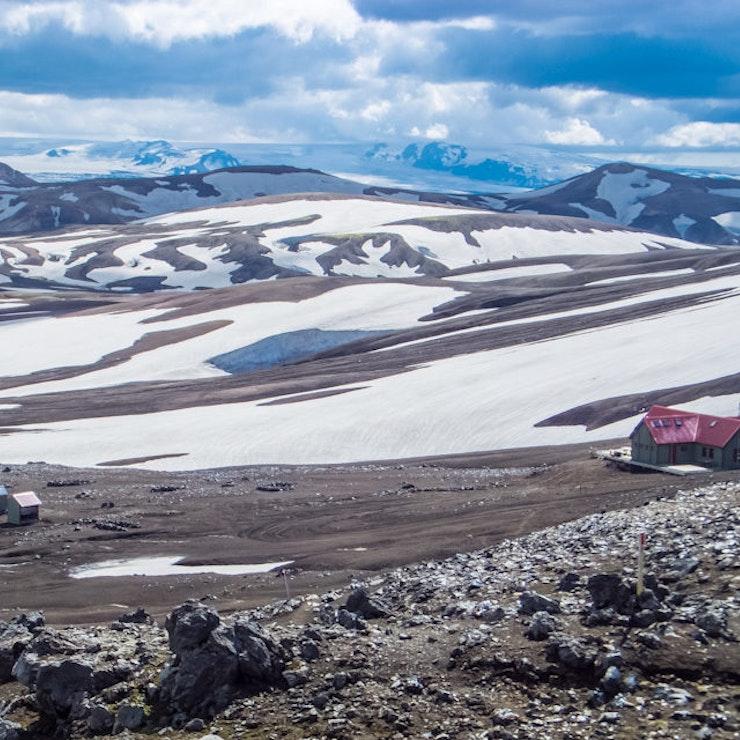 Mountainhut, wandelreis IJsland