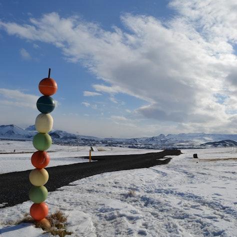 Winterslandschap op Snæfellsnes