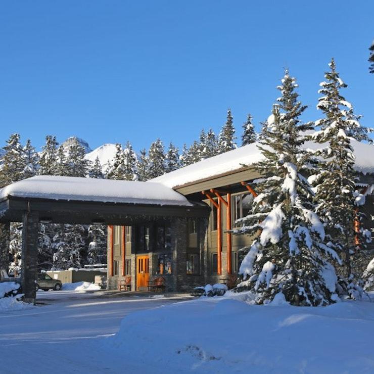 wintersport in Lake Louise Mountaineer lodge