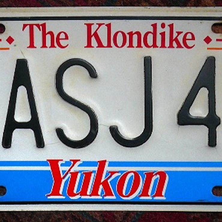 Yukon kentekenplaat