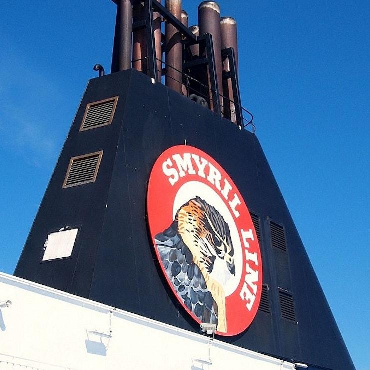 Veerboot de Smyril Line, van Denemarken naar IJsland