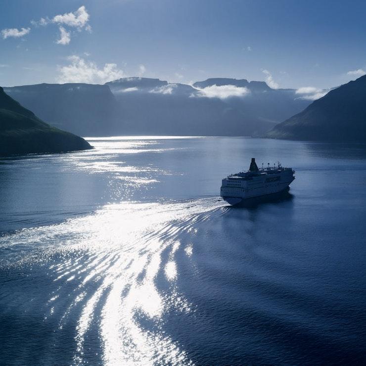 De Norröna, de veerboot naar de Faeröer en IJsland