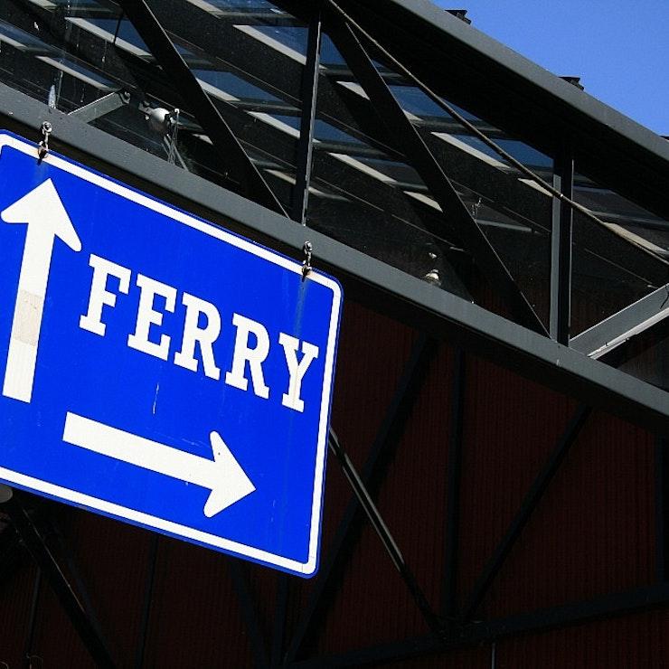 Ferry bord Granville Island, Vancouver